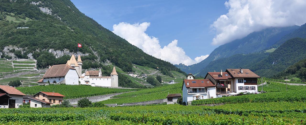 スイスの自然風景の写真