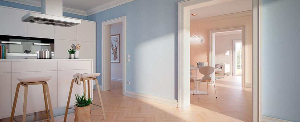 オガファーザーとスイス漆喰の家