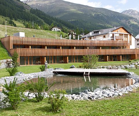ドイツの自然素材の家の写真