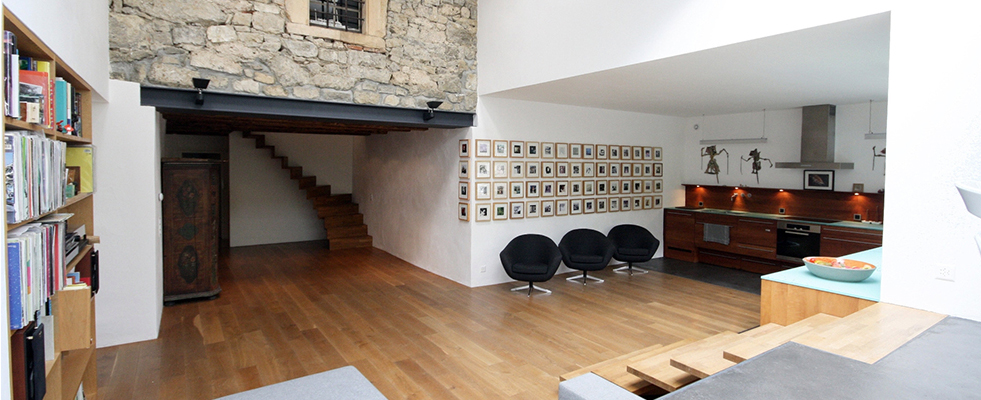 スイス漆喰の家の写真