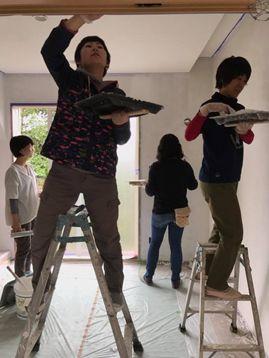 塗り壁workshop