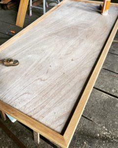 テーブル天板枠